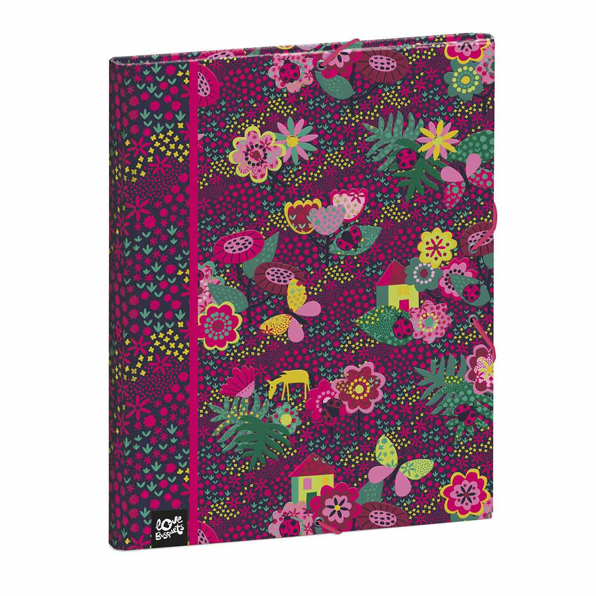 Hard Cover Folio GARDEN By BUSQUETS 26,0 X 33,5 X 3,0 Cm.